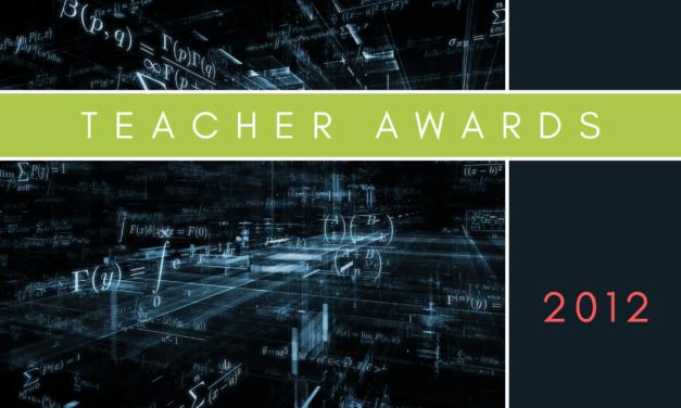 Teacher Awards 2012