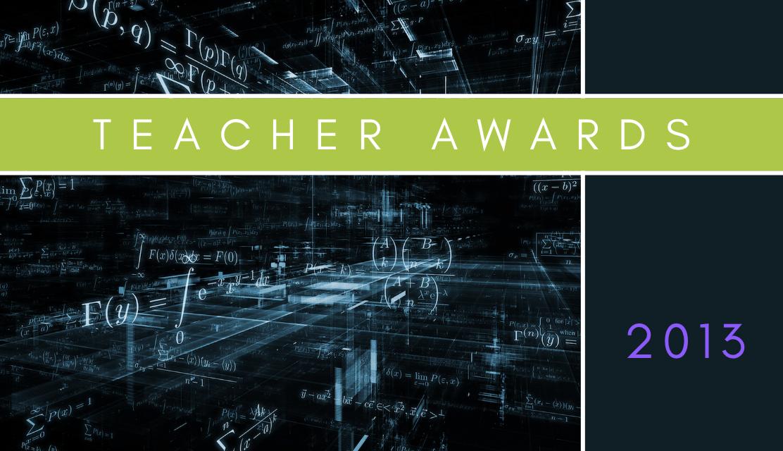 Teacher Awards 2013