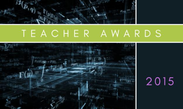 Teacher Awards 2015